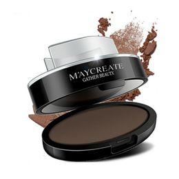 Wholesale Eyebrows Powder - Wholesale- High Quality Beauty Waterproof Long Lasting Eyebrow Powder Women Eyebrow Stamp Palette eyebrow Makeup Cosmetics