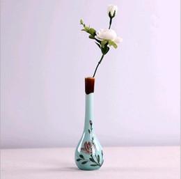 The Edges Coins Vases Céramique Blanc Noir Vase De Table Décoration Vase Vases Modernes De Mode ? partir de fabricateur