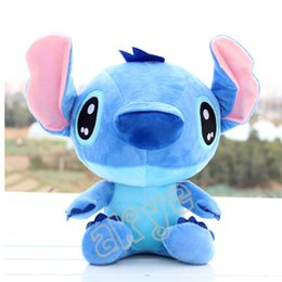 Wholesale Lilo Plush - Free Shipping Hot Sale High Quality Cute Lilo & Stitch Plush Doll Toys 18cm Lovely Stitch Toys Plush Animals For Child Gifts Wholesale