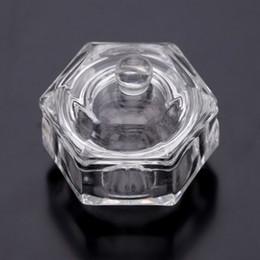 Großhandel-Kristallglas Dappen New Nail Art Werkzeuge Acryl Dappen Dish Bowl Cup Liquid Cup Glaswaren Werkzeug Nail Art Ausrüstung Werkzeuge von Fabrikanten