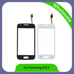 Wholesale Galaxy Ace Touch - 4.3 inch G313 Digitizer For Samsung Galaxy Ace 4 SM-G313H G313 Touch Screen Panel Sensor Lens Glass
