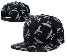snapbacks populares Desconto Barato BOY LONDON Snapbacks Chapéus Hiphop BOY LONDON Snapbacks Moda Caps Hiphop Boné Ajustável Street Popular