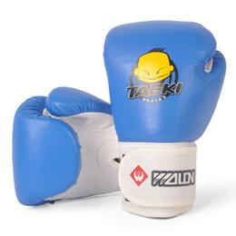 Nuevos guantes de boxeo de alta calidad para niños Boxeo de combate libre Combate Mitt Artes marciales Entrenamiento Regalos para niños Sacos de arena desde fabricantes