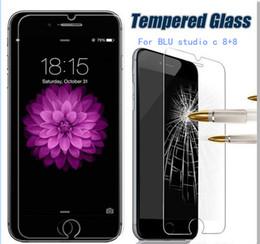 Wholesale Blu Screen Protector - For BLU studio G PLUS S510Q dash x 2 grand 5.5 HD Tempered Glass Screen Protector Explosion Proof Guard phone Screen Film