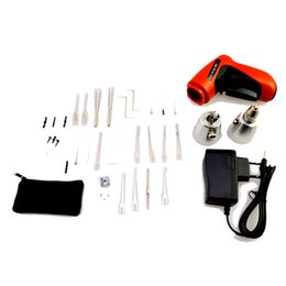 Wholesale New Klom Electric Pick Gun - Locksmith Tools ,KLOM Cordless Electric Lock Pick Gun,Lock Pick, KLOM Electric Lock Pick Gun, New Cordless Pick Gun