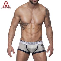 Wholesale Xxl Mens Underwear Wholesale - Wholesale-Cotton Mens Boxer Shorts Brand Cuecas Boxer Sexy Cool Underwear Men Clothing Big Size M L XL XXL 4 Colors Free Shipping(N-622)