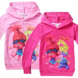 f681ceb294b New Girls hoodies sweatshirt kids clothes christmas tops trolls children t  shirts long Outwear sleeves clothing jacket