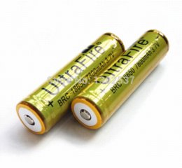 Wholesale Rechargeable Battery Protected - PCB Protected 18650 7800mAh Ultrafire BRC 3.7V Rechargeable Lithium ion Li ion Battery Cell Free DHL
