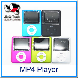 Wholesale Free Card Readings - Ultra-High Quality MP3 MP4 Multi Media Video Player Music Player LCD Screen Support FM Radio without TF card With Retail Box DHL Free