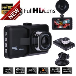 "Wholesale Dash Cams Gps - 3.0"" Vehicle 1080P Car DVR Dashboard DVR Camera Video Recorder Dash Cam G-Sensor GPS Free Shipping"