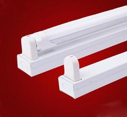 Wholesale T8 Tube Lighting Holders - 1200mm T8 bracket LED AC85-265V lamp fluorescent stent led tube lamps lighting t8 lamp holder lamp full set of
