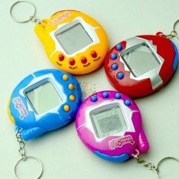 Wholesale Factory Direct Electronics - Virtual Pet Machine Electronic Miniature Tamagotchi Game Consoles Lovely Easy To Carry Puzzle Toy Factory Direct Sale B R
