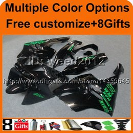 Wholesale Zx9r White Red Fairings - 23colors+8Gifts ZX9R 1994 1995 1996 1997 ABS Fairing For Kawasaki 1994-1997 ZX9R red all red Ninja 94-97 green ZX9R