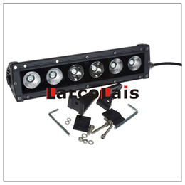 Wholesale Motor Works - Larcolais 12.5 Inch 60w Cree LED Light Bar Motor 4x4 SUV ATV Offroad Driving Work Fog Lamp