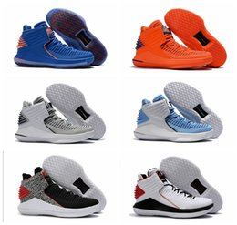 Wholesale Russell Westbrook Shoes - 2017 Arrival Retro 32 Russell Westbrook Mens Basketball Shoes for High quality Airs 32s XXXII Flights Speed Sports Sneakers Size 40-46