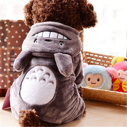 Wholesale Wholesale Soft Fleece Hoodies - Cute Pet Dog Clothes Soft Fleece Jumpsuit Teddy Sport Cotton Winter Warm Hoodie In Home Garden For Dog Clothes Chihuahua 7003 L027