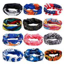 Wholesale Men Houndstooth Scarf - Four season Outdoor seamless changed magic high flexibility scarf collar men and women bicycle riding hood collar collar windproof sun mask