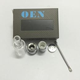 Wholesale china wholesale vaporizer - Top Selling Wax Dry Herb Atomizer Ceramic Donut vaporizer OEN e-cig China Manufacture electronic cigarette skillet tank
