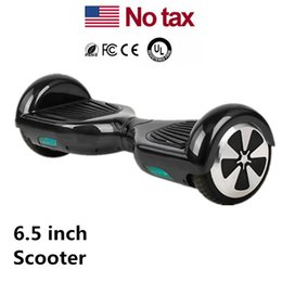 Wholesale Camouflage Stockings - LED Scooters Skateboard Electric Mini Self Balancing Wheel Hover Board Smart Balance Scooter 6.5 inch Two Wheels USA Stock Drop Shipping