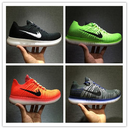 Wholesale Christmas Walk - Christmas gift 2017 New Free Run Running Shoes RN Flyline 5.0 Men Sneakers High Quality Discount Walking FreeRun Sports Shoes Size 40-45