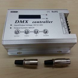 Wholesale Dmx Controller Lcd - DMX301 DMX Controller For RGB LED LCD Display DMX512 Console