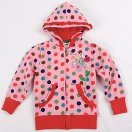 Wholesale Clothes For Teenage Girls - Wholesale- pink kids hoodies children wear jacket zipper new year Sweatshirts for teenage girls baby hoodies sports suits cotton clothing