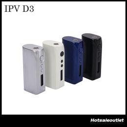 Wholesale E Cigarettes Sets - Authentic Pioneer4you IPV D3 80W TC Box Mod YiHi Chip-Set Temperature Control 18650 E-cigarette Mods Match Uwell Crown Tank Arctic Turbo