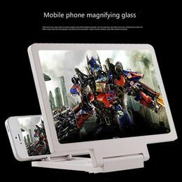 2019 novas peças para telemóvel Suporte de Vídeo 3D Amplificador de Vídeo Titular Tela Lupa Suporte de Expansão Dobramento Ampliado Stand para Todos Os Telefone Inteligente