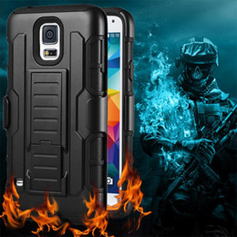 Wholesale Iphone Hard Case Holster Clip - Future Armor Impact Hybrid Hard Case Cover + Belt Clip Holster Kickstand Combo For iphone 5 5s 6 6s plus Samsung Galaxy S7 S6 edge plus