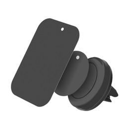 2019 iphone 5s carro suporte ar Suporte do telefone do carro universal suporte de telefone celular de ventilação de ar suporte magnético para iphone 7 plus 5S samsung htc sony gps móvel ímã de apoio desconto iphone 5s carro suporte ar