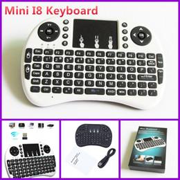 2019 pc rii bluetooth 2016 teclado inalámbrico teclados i8 RII Fly Air ratón Multi-Media Remote Control Panel táctil del dispositivo para obtener MXQ M8S TV caja androide Mini PC