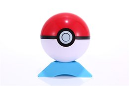 Wholesale Pattern Master - 13 Colors Pokeball 7CM ABS Pocket Monsters Pikachu Balls With Base Cosplay New Pokeball Master Ball BIS BALL Great Gifts For Kids