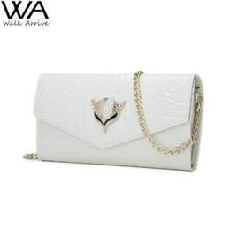 Wholesale White Clutch Bag Cheap - Leather Shoulder Bag Women Handbag Clutch Leather Purse Casual Bag Female Bolsas femininas Cheap bag sealer