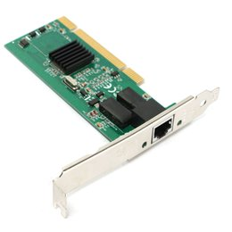 Wholesale Pci Card Wireless - Wholesale- 1000Mbps Gigabit Ethernet PCI Express PCI Network Controller Card 10 100 1000M RJ-45 RJ45 LAN Adapter Converter