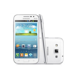 Wholesale Galaxy Wins - Original Samsung Galaxy Win DUOS I8552 UNLOCKED GSM HSDPA Quad Core 4.7'' Android 4.0 RAM 1GB ROM 4GB Camera 5MP Dual SIM refurbished phone