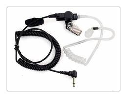 auriculares comtac Rebajas Spring Line Escuchar solamente Transparente y flexible Tubo acústico Auricular 3,5 mm Jack