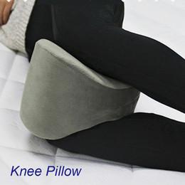 Wholesale Pregnant Pillows - Memory Cotton Knee Pillow Leg Pillow Nursing Cushion Pregnant Woman Velour Cover Rebound Effect OEM Customized