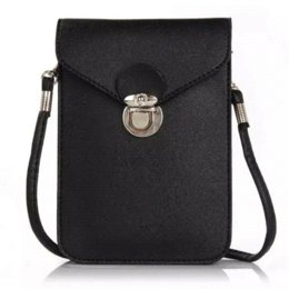 Wholesale Mini Quilted Purses - Fashion 2015 new phone case quilted women handbag multi-layer cell phone bags purse mini shoulder bag women messenger bags