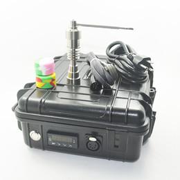Fancier Dab Nail dab électrique pour tuyaux de verre bangs conduites d'eau de chauffage 10mm / 16mm / 20mm titane clou GR2 bouchon carb Dabber livraison gratuite ? partir de fabricateur