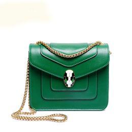 Wholesale Womens Solid Gold Chains - Wholesale-Womens Hand Bags 2016 Women Messenger Bag Mini Solid Green Handbag Gold Chain Flap Hand Crossbody Bag For Lady Sac Femme Bolsa