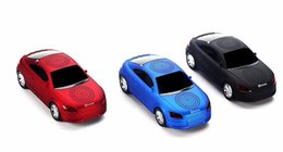 Wholesale Cool Phone Speakers - Super Cool Bluetooth speaker Top Quality Car Shape Wireless bluetooth Speaker Portable Loudspeakers Sound Box for iPhone IPAD Computer
