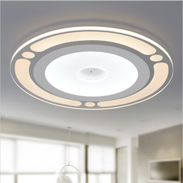 Wholesale Modern Minimalist Ceiling Lamp - dimmable modern minimalist round led ceiling light acrylic lampshade Ceiling Lighting living room lights decorative kitchen lamp lamparas