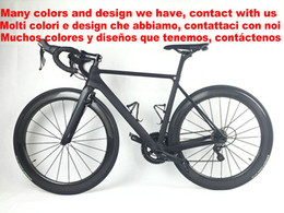 Wholesale Complete Bike Road - 80 colors White Team Sky BOB Full Carbon Road complete Bike Bicycle With 5800 R8000 Groupset For Sale