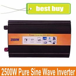 Wholesale Inversor Grid - inverter 2500W pure sine wave off grid single phase peak power 5000W inversor 2500W Pura Onda 2500w