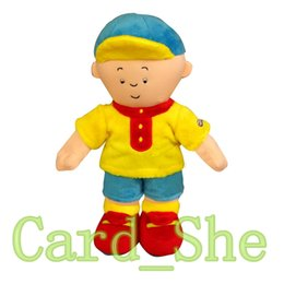 Wholesale Caillou Rosie Plush Doll - Baby Toys 30cm Caillou Rosie Plush Toys Soft Plush Stuffed Toys Doll Caillou Hobbies Plush Toy Brinquedos Best Gift for Children