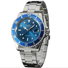 Wholesale Sea Dweller Men Watch - Fashion Men Automatic Mechanical Dweller Sea Brand Wristwatch Luxury Auto Date Color Dial RO Design Stainless Steel Watches