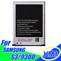 Wholesale Standard Phone Battery - Cell phone For Galaxy S3 battery i9300 9300 EB-L1G6LLU Battery Standard Li-ion Replacement High Quality Battery with retail packing