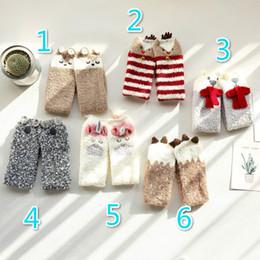 Wholesale Socks Babies Girls - Christmas Gifts Socks For Children Baby Girls Boys Socks Knee High Cartoon Princess Sock Leg Warmer Boot Socks Long Tube Sock A7669