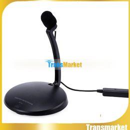 Wholesale Desktop Microphone For Pc - SF-911 Goose Neck Microphone Mini Desktop Stereo Recording Condenser Microphone Adjustable Portable Microphone For PC Tablet
