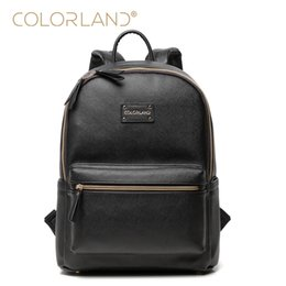 Wholesale Bags Mom - COLORLAND Designer Baby Diaper Bags for Mom Large Capacity Nappy Maternity Bag Backpack Baby Care Bag for Stroller BP1231